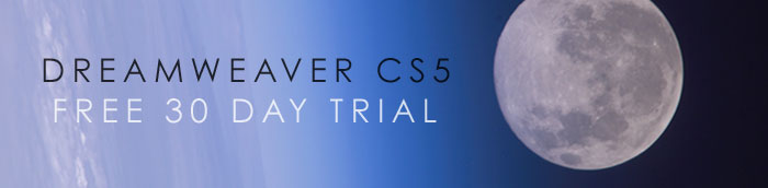 Dreamweaver CS5 Free Trial