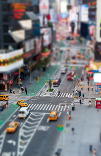 Elements 10 Tutorial - How To Create The Tilt Shift Effect Using Elements 10