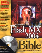Macromedia Flash MX 2004 Bible