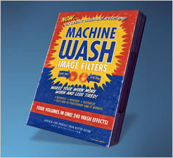 Mister Retro Machine Wash Photoshop Plugins 4-CD Bundle