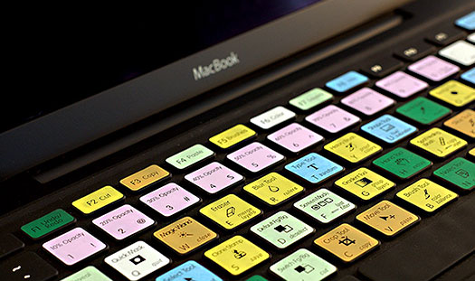 Keyboard Shortcut Skins for Macs From Photojojo
