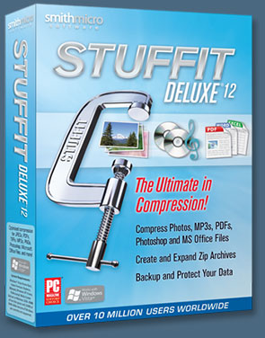 Stuffit Deluxe Compression Software