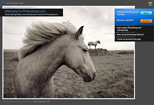 Photoshop.com Accepting New Members - Free And Membership Online Gallery Service