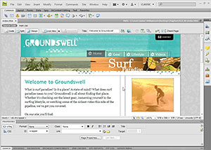 Working With Templates In Dreamweaver CS4 - 4 Free Video Clips From Dreamweaver CS4 Essential Training With James Williamson