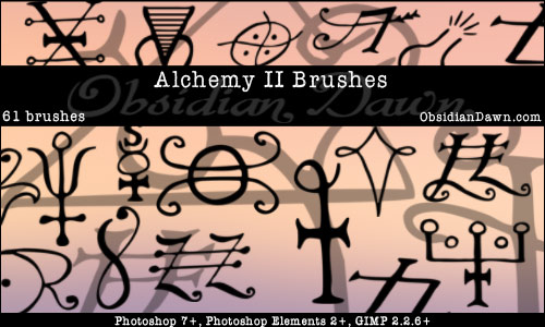 Alchemy Vectors II - Photoshop Brushes