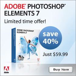 Photoshop Elements Super Special — 40% Discount — Only $59 Until April 23, Directly From The Adobe Store
