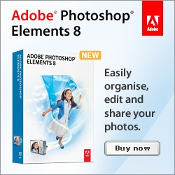 Photoshop Elements 8 software available for Windows and Mac