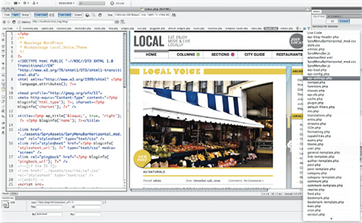 Dreamweaver CS5 - New Features