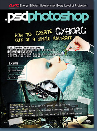PSD Photoshop Magazine - March Issue Available - Free Download