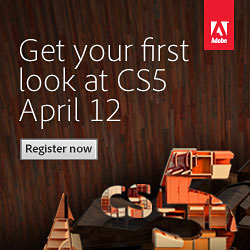 Register For The Adobe CS5 Launch Event