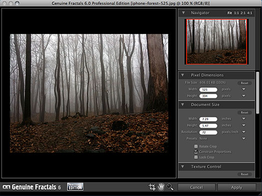 Genuine Fractals 6 Review - Photoshop And Lightroom Plugin Resizes Images - Creates Professional Blowups - 15% Discount Coupon