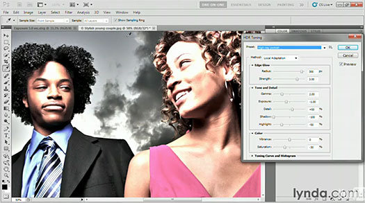 Photoshop CS5 Top 5 Videos - HDR Toning Features