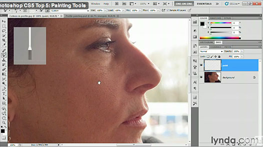 Photoshop CS5 Top 5 Videos - Painting Tools In CS5