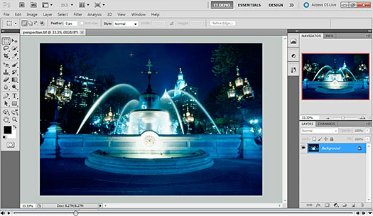 Working With The Lens Correction Filter - Photoshop CS5 - Free CS5 Video Clip From Total Training
