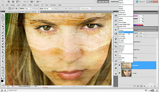 Click here to watch the free video tutorial, Blending Textures Onto A Face, in a new window