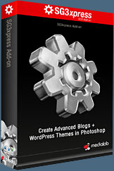 Media Lab's NEW SG3xpress for Wordpress Photoshop plug-in