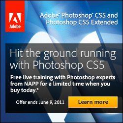 Buy Photoshop CS5 And Get Free Online Training From NAPP