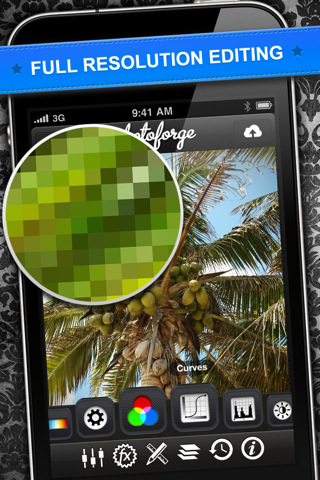 PhotoForge 2 Released - iPhone App With Amazing Features
