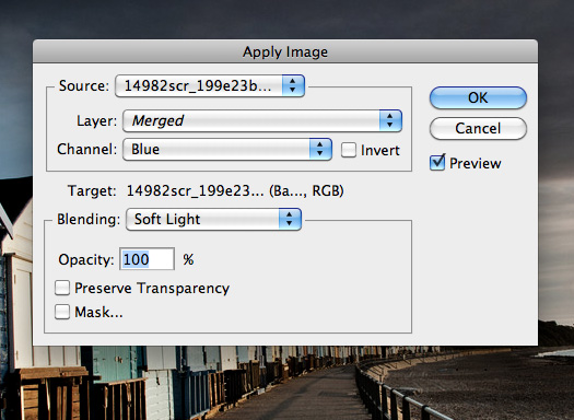 How To Change A Photo's Mood Using Photoshop's Apply Image