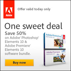 Save 50% Off The Full Version of Adobe Photoshop Elements And Premiere Elements Bundle - Today Only
