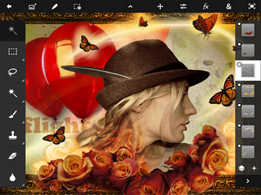 Adobe Photoshop Touch Now Available for iPad 2
