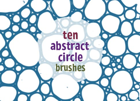 10 Free Abstract Circle Brushes For Photoshop