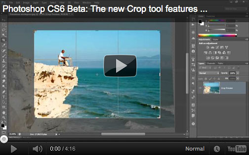 Photoshop CS6 Insights - 4 Videos On New Features