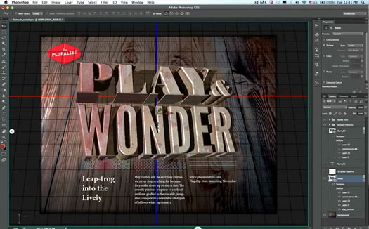Photoshop CS6 3D Capabilities - Sneak Peek Video
