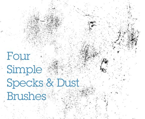 Bittbox is offering a set of free Photoshop brushes that feature dust and speck particle textures