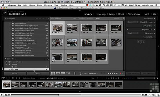 Learning Adobe Photoshop Lightroom 4 - 13 Free Videos