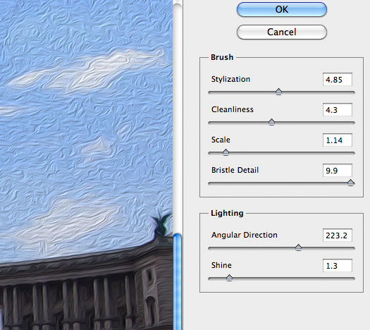 Photoshop CS6 Oil Paint Filter Tutorial