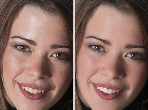 Retouching Photos To Improve Skin Surface In Photoshop - HD Video Tutorial