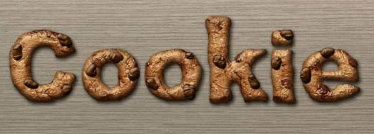 Create A Cookie Text Effect In Photoshop - Tutorial