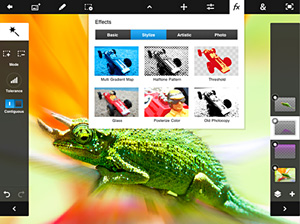 Free Photoshop Touch Upgrade - Retina Display Support, Higher Resolution Capabilities