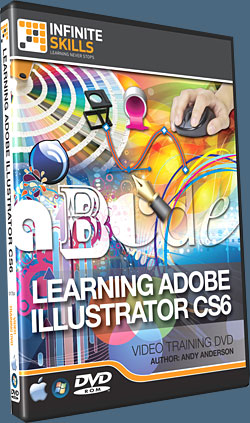 Learning Adobe Illustrator CS6 Tutorial DVD - Video Training - 14 Free Videos