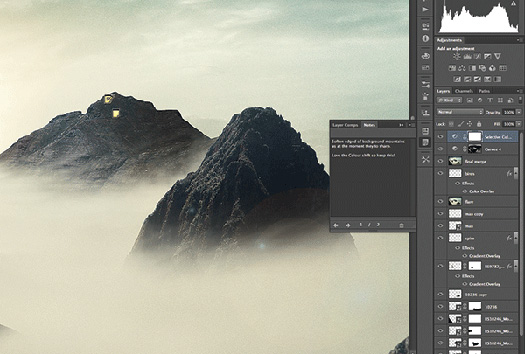Using The New Layer Comps Panel In Photoshop CS6