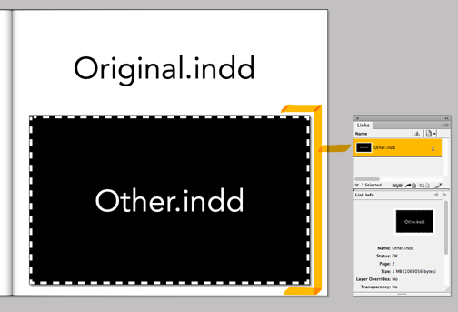 InDesign Video Tutorial - Placing One InDesign File Inside Another InDesign File