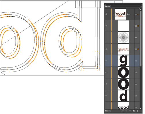 Creating 3D Punched Letters In Illustrator - Video Tutorial And Step-by-Step