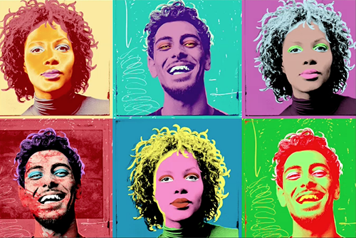 Creating a series of Warhol-style variations - Video Tutorial And Step-by-Step