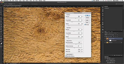 Here's the latest tutorial from Photoshop Daily: Shoot hi-res wood textures. High resolution wood textures are readily available on line. However you may not want to purchase the rights to use these in commercial works. In that case you'll want to take your own photos. Here we show you how. We explore ways to set up and shoot in the studio and outdoors. You'll also discover which cameras to use to capture the perfect megapixel image and the settings to shoot with for the clearest clarity for first-class results