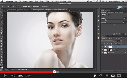 Photoshop: Porcelain Doll Effect (Photo Retouching) - Video Tutorial