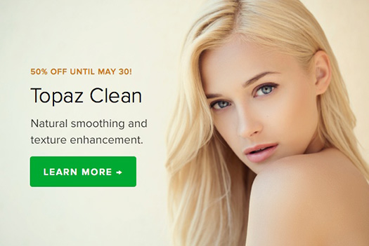Topaz Clean Discount - 50% Off