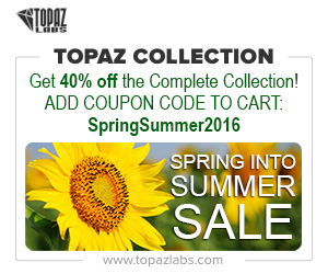 40% off of the full Topaz Photography Collection