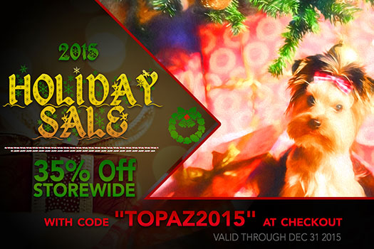 Topaz Plugins Super Crazy Sale - 35% Off All Products